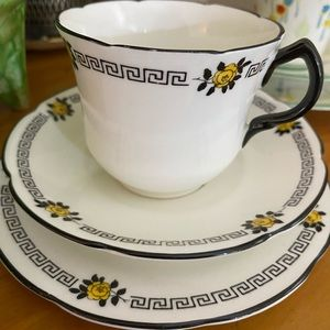 VINTAGE English Trio Art Deco from 1930s